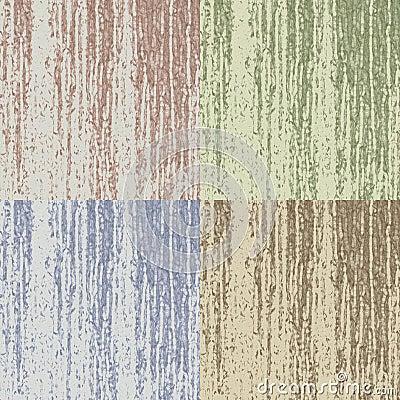 Pop-arte and wood grain texture