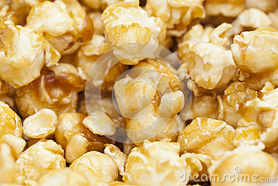 Pop corn background