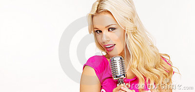 Pop female blonde