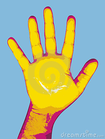 Pop hand