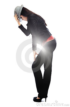 Pop music dancer