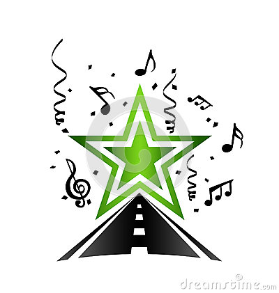 Pop star road logo