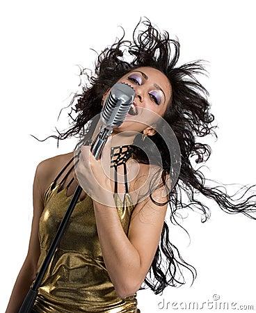 Pop star singer