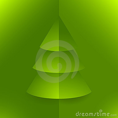 Pop up Christmas tree green