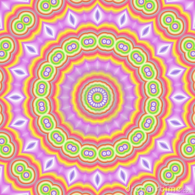 Popart kaleidoscopic