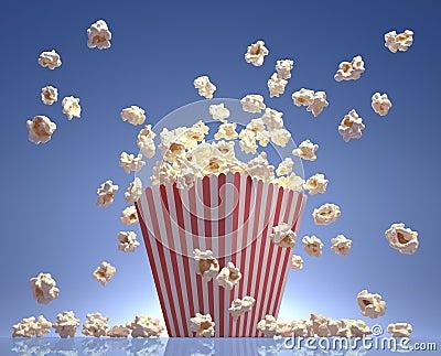 Popcorn πέταγμα
