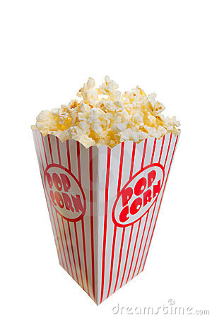 Free Popcorn Royalty Free Stock Photography - 8432887