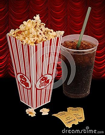 Free Popcorn And Movie Stock Photo - 1753160