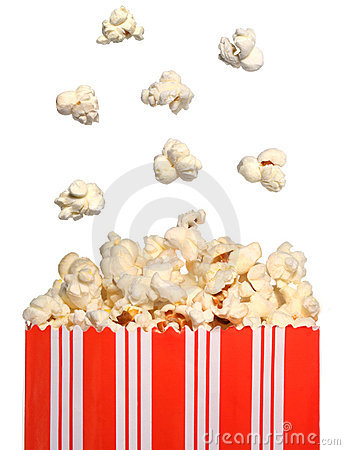 Free Popcorn Bag Royalty Free Stock Photo - 5829185
