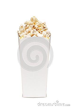 Popcorn in box