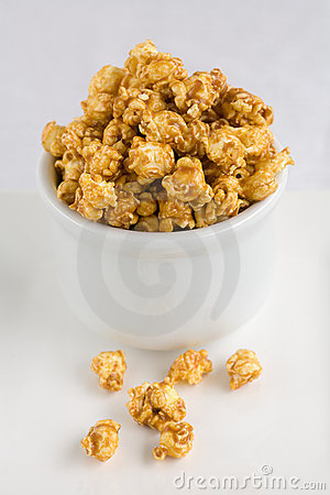 Free Popcorn Carmel Royalty Free Stock Photo - 1973805