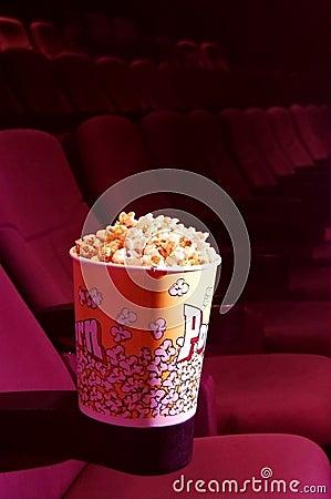 Popcorn in a cinema