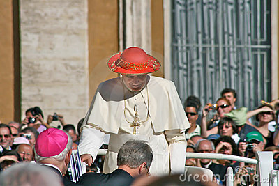 Pope Benedict Editorial Stock Image