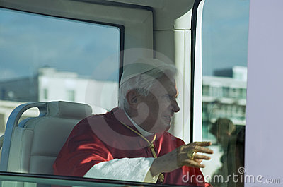 Pope Benedict XVI Editorial Image