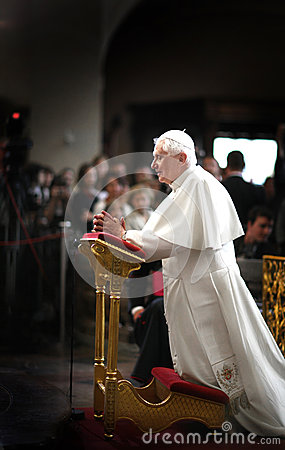 Pope Benedict XVI. Editorial Photography