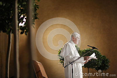 Pope Benedict XVI. Editorial Image
