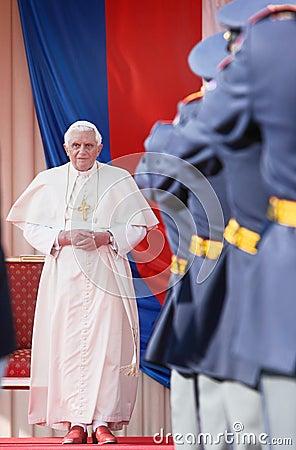 Pope Benedict XVI. Editorial Image