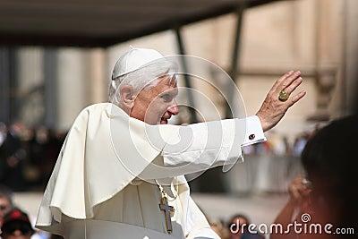 Pope Benedict XVI Editorial Stock Photo