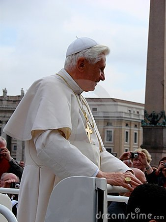 Free Pope Benedict XVI Stock Photography - 4994282