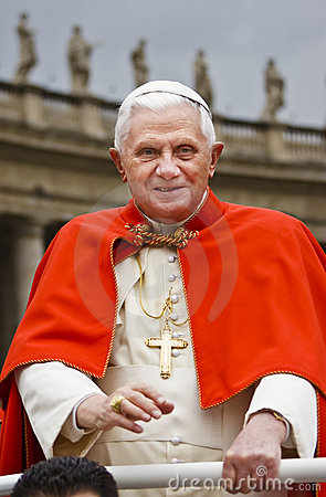 Pope Benedict XVI St Peters, November 14, 2007 Editorial Stock Image