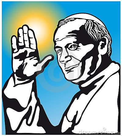 Pope John Paul II Editorial Image