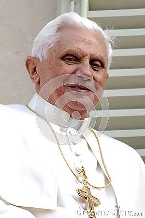 Pope Joseph Benedict XVI Editorial Stock Image