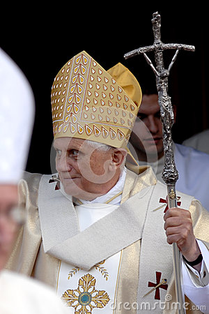 Pope Joseph Benedict XVI Editorial Photo