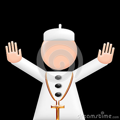 Pope puppet 3d