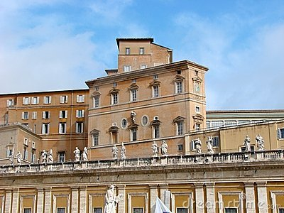The Pope s residence, Vatican, Rome