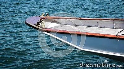 Poppa sporgentesi Yacht_306 del XIX secolo video d archivio
