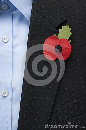 Poppy Appeal England Editorial Stock Image