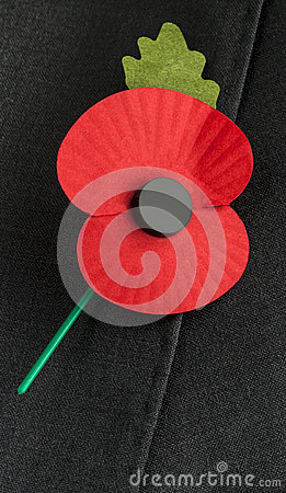 Free Poppy Appeal For Remembrance / Poppy Day. Stock Photography - 30719122