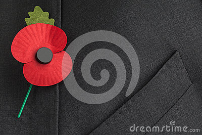 Poppy Appeal for Remembrance / Poppy Day.