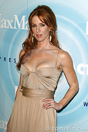 Poppy Montgomery Editorial Stock Photo