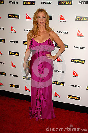 Poppy Montgomery Editorial Stock Image