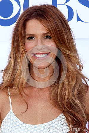 Poppy Montgomery Editorial Photo