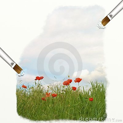 Poppy oil effect