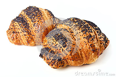 Poppy Seed Croissants or Buns