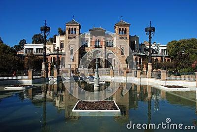 Popular arts museum, Seville, Spain.
