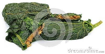 A Popular Bengali fish item with leaf