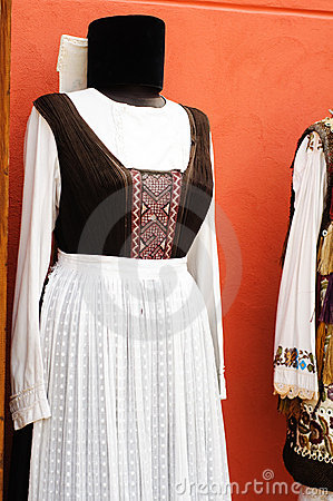 Popular costume from Transylvania
