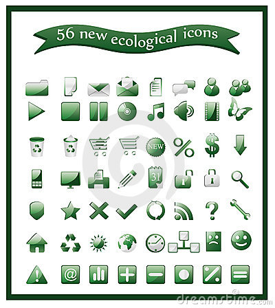 Popular ecological icons