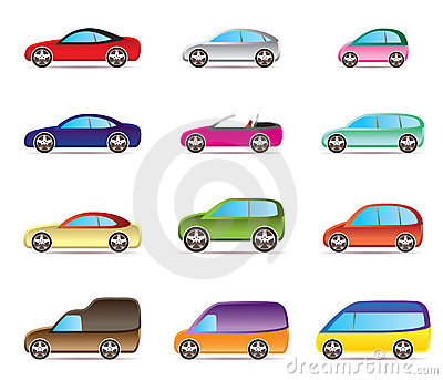 Popular types of cars