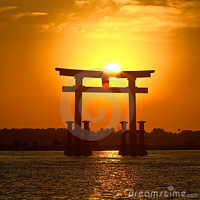 Por do sol collection-1 de Japão