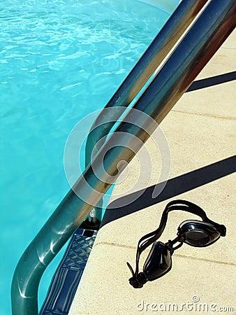 Por la piscina 1