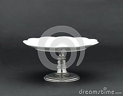 A porcelain dessert stand