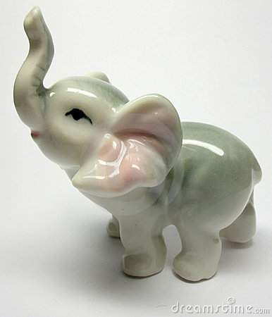 Porcelain Elefant