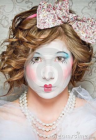 Porcelain girl