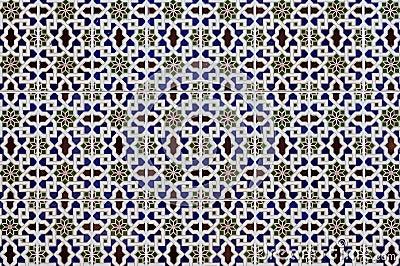 Porcelain Islamic patterns