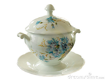 Porcelain sugar basin